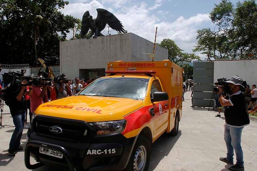 Incêndio no CT do Flamengo