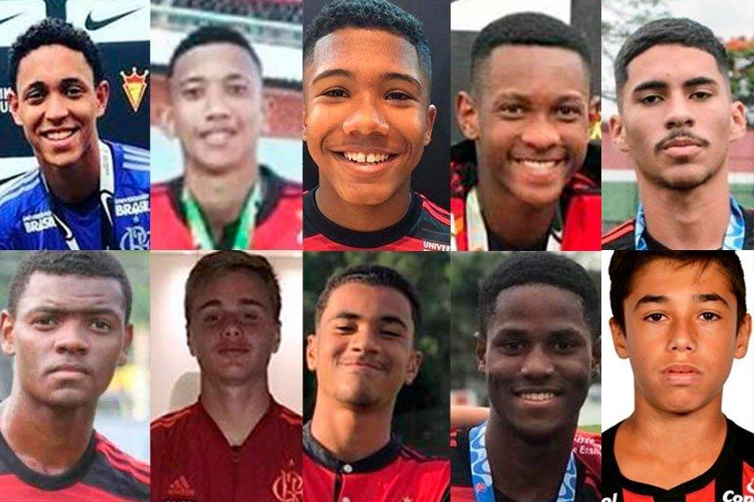 Adolescentes mortos no CT do Flamengo