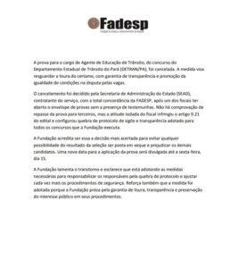 Fadesp/Reprodução