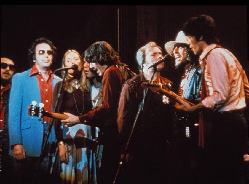 the band last waltz united artists