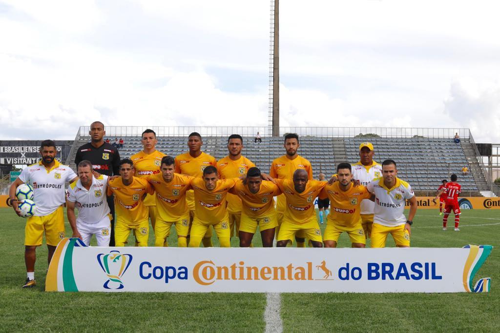 copa do brasil 2019: brasiliense x crb