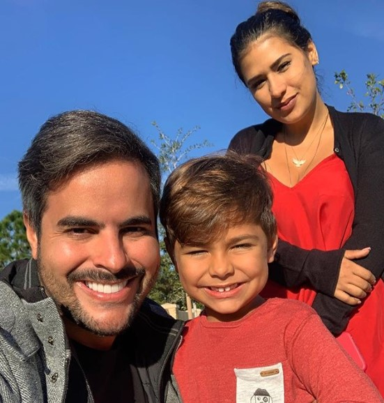 Kaká Diniz, Simone e o filho, Henry