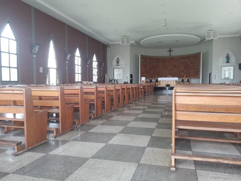 tragédia em igreja em Goiãnia