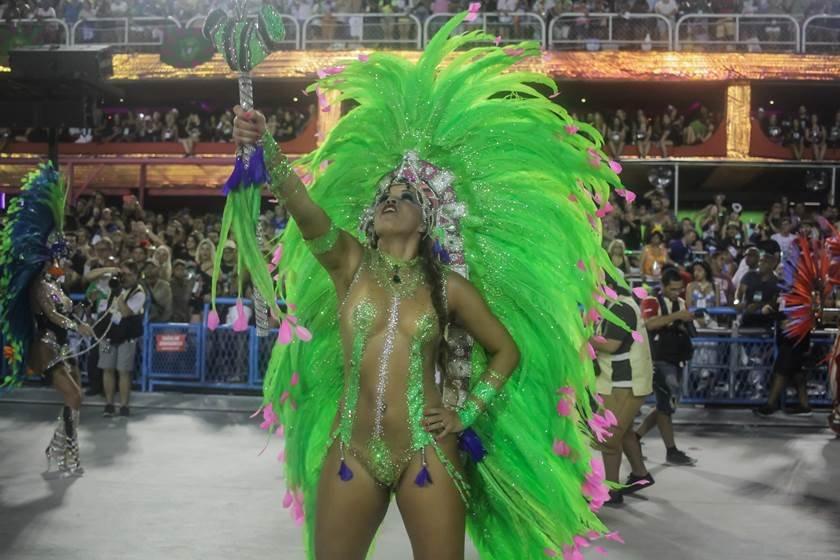 Desfile da escolas de samba do Rio de Janeiro