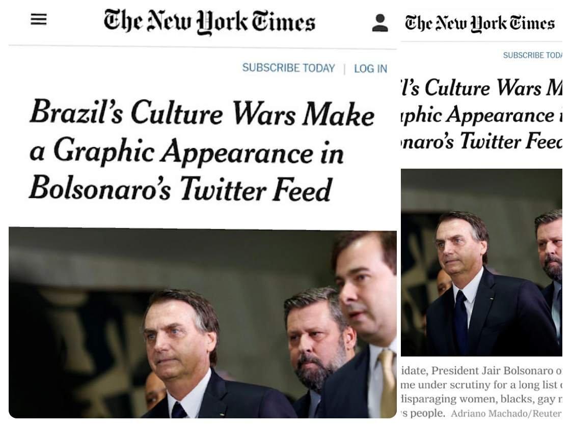 Reprodução/NYT