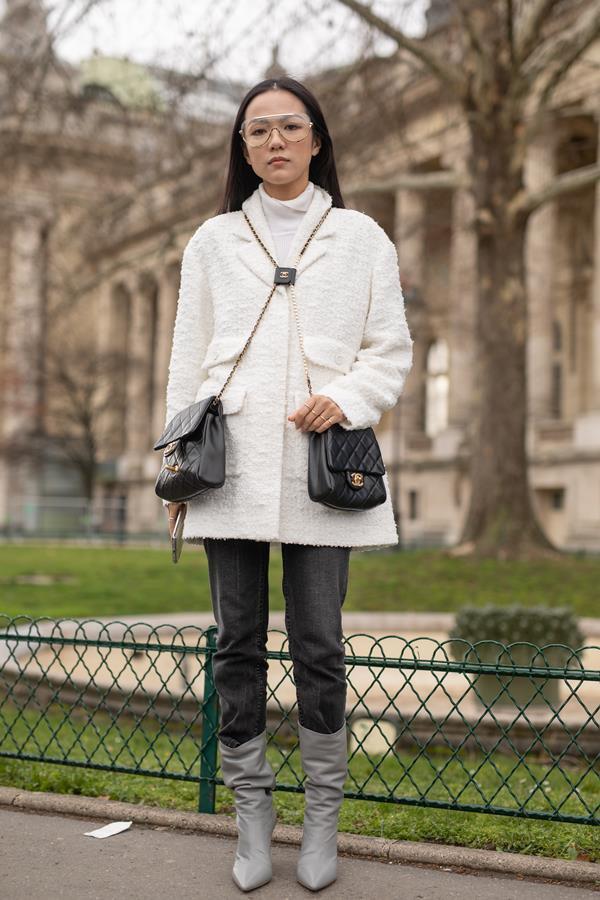 a466206f25 Street Style - Paris Fashion Week Womenswear Fall Winter 2019 2020   Day  Nine