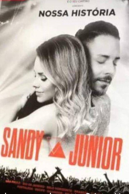 sandy e junior cartaz