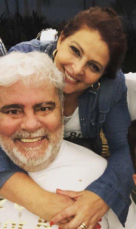 Wagner Montes e Sonia Lima