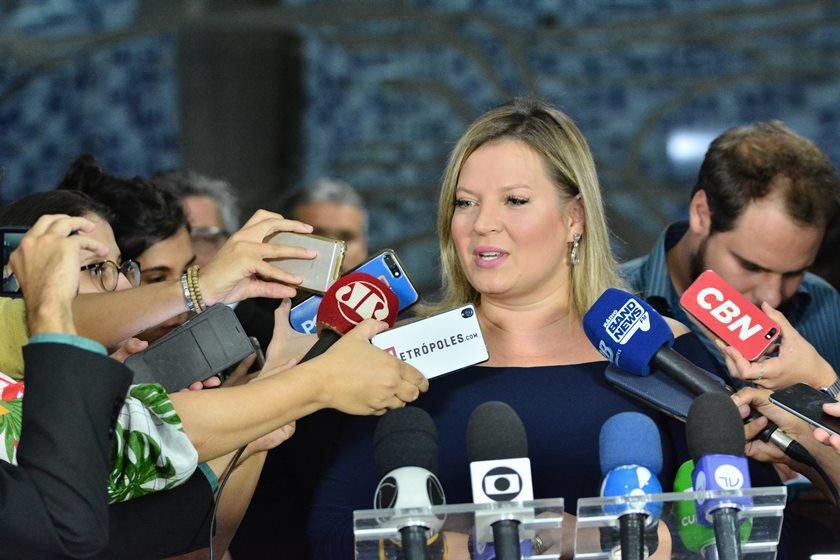Assessoria da deputada Joice Hasselmann/Divulgação