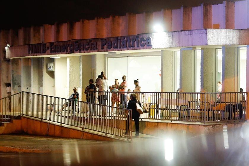 Plantões noturnos dos hospitais do DF Brasília(DF), 20/03/2019