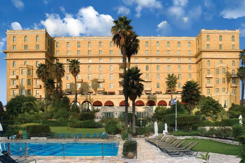 Hoel King David, em Jerusalém, onde Bolsonaro se hospedará