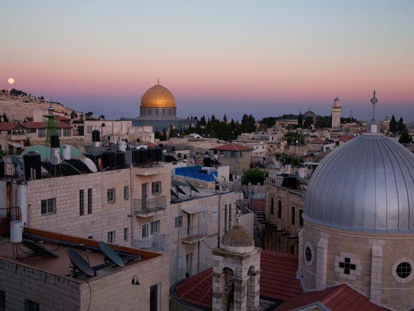 Hoel King David, em Jerusalém, onde Bolsonaro se hospedará 13