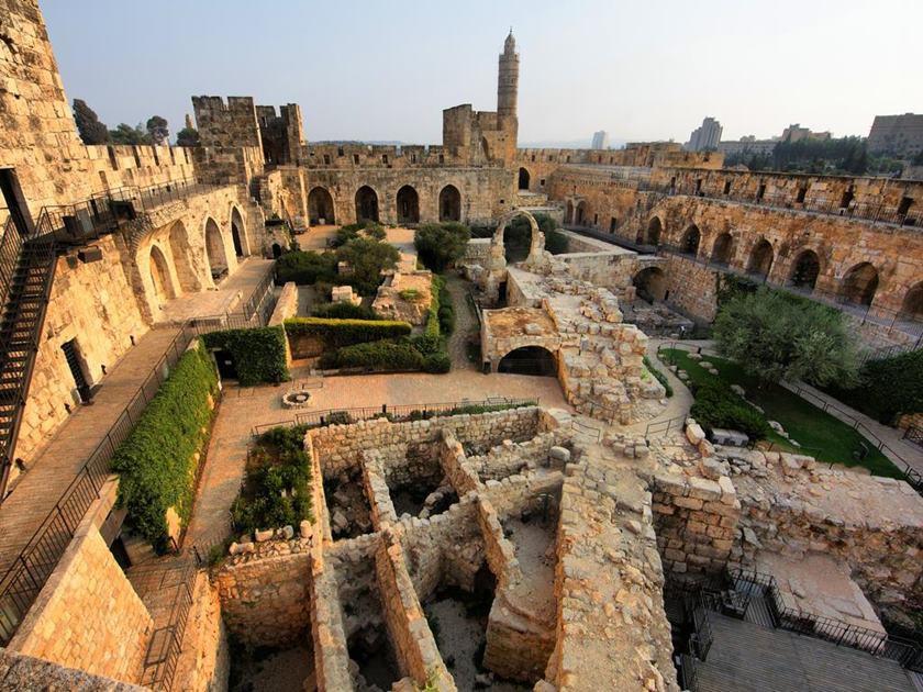 Hoel King David, em Jerusalém, onde Bolsonaro se hospedará 14