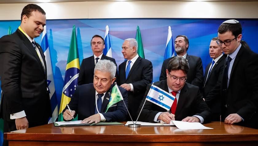Bolsonaro em Israel - ministro Marcos Pontes