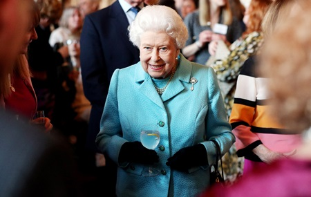 The Queen Hosts A Reception To Mark The 100th Anniversary Of The National Council For Voluntary Organisations