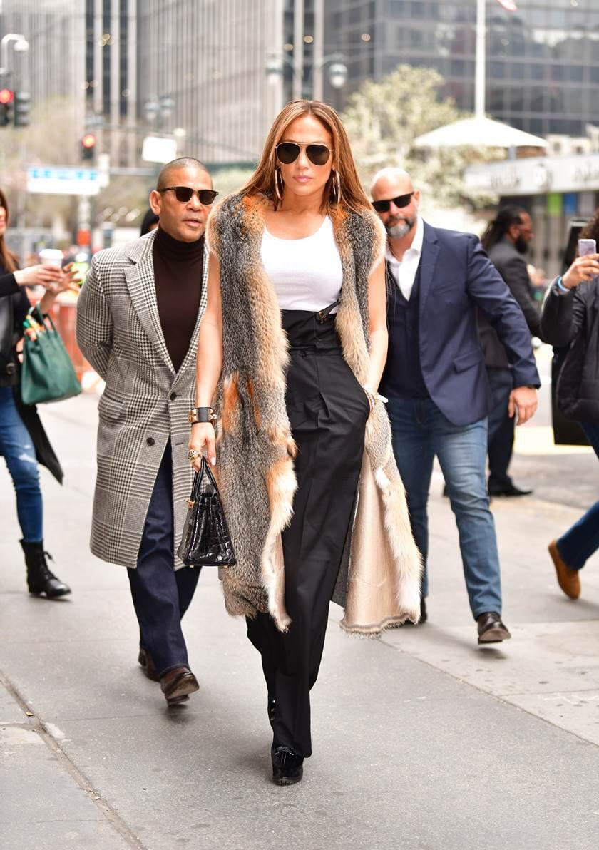 Celebrity Sightings in New York City - April 9, 2019