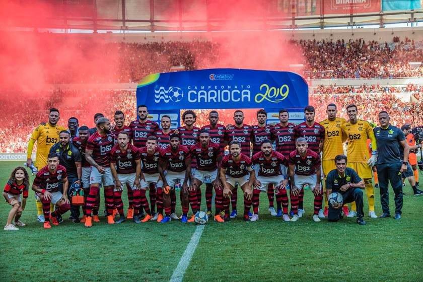 Resultado de imagem para flamengo campeão carioca 2019