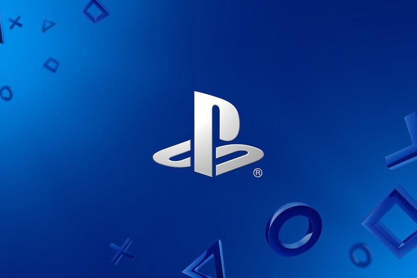 Imagem mostra tela inicial com a logo do Playstation