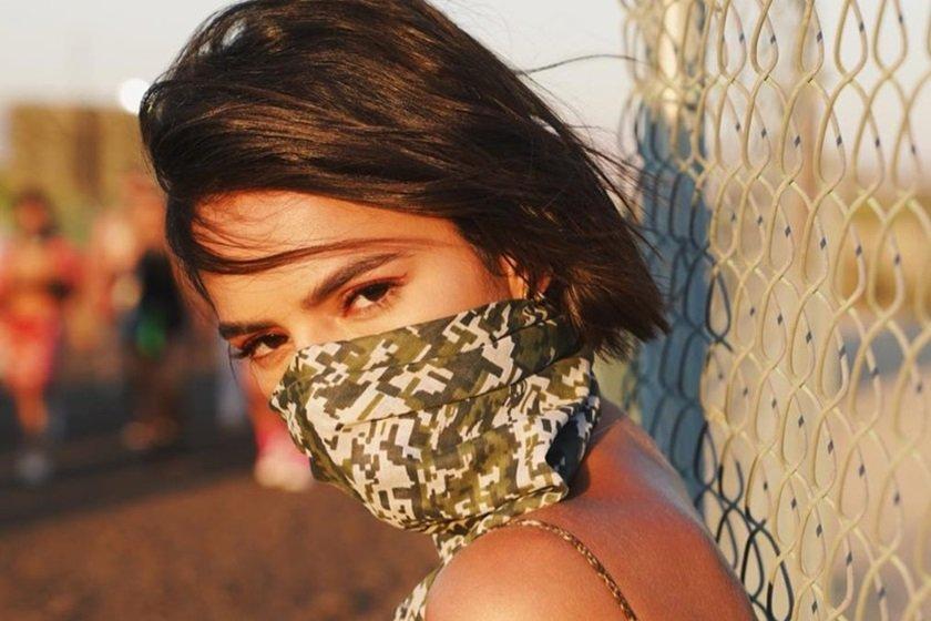 12a01080dda36 Bruna Marquezine é parada pela polícia na França. Veja vídeos