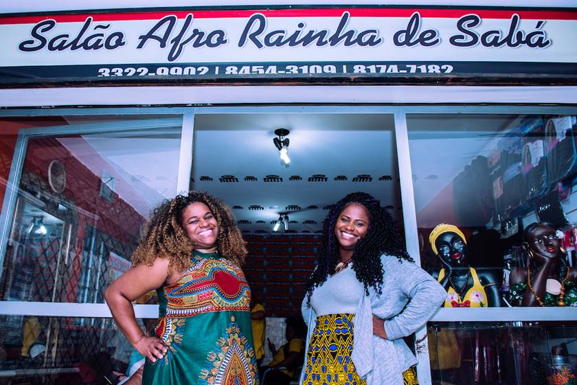 Brasília (DF), 19/04/2019. Trancistas do DF. Salão Rainha de Sabá. Local: Conic, Asa Sul. Foto: Jacqueline Lisboa/Metrópoles