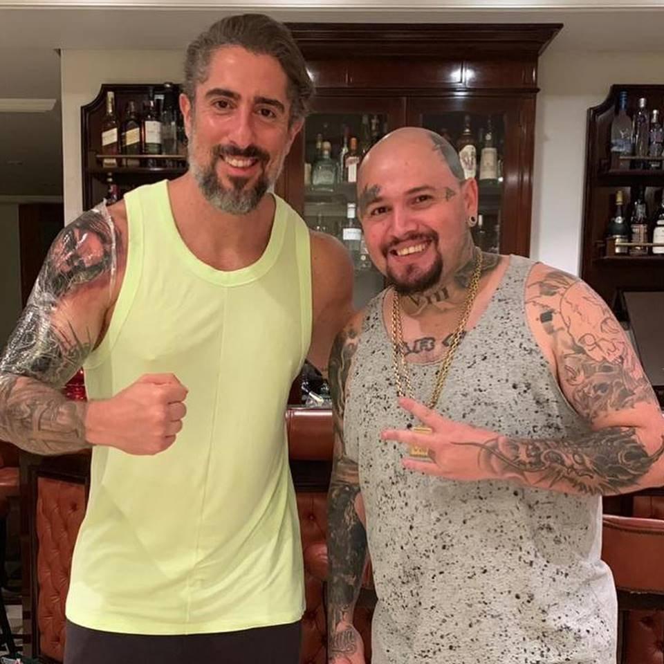 Marcos Mion Impressiona Com Nova Tatuagem De Jesus Cristo No
