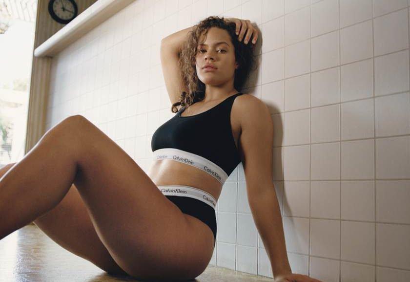 5d5070c88 Calvin Klein  lingeries de tamanhos 46 a 54 chegam ao Brasil