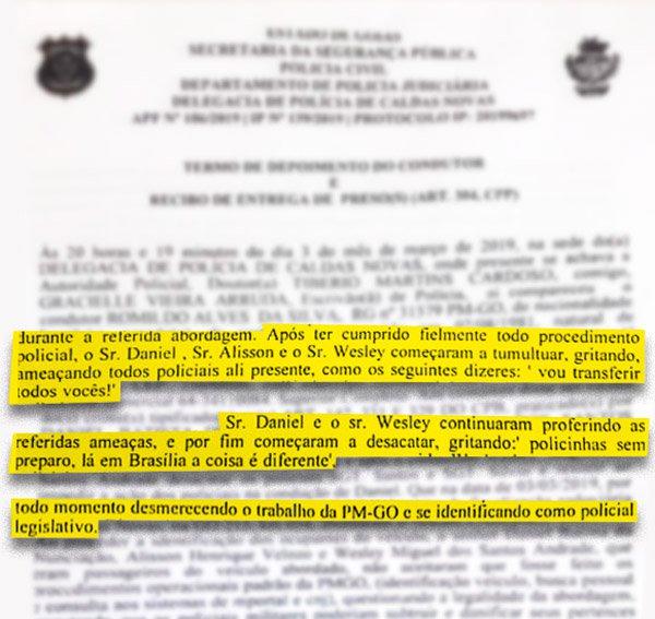 Reprodução/Polícia Civil de Goiás