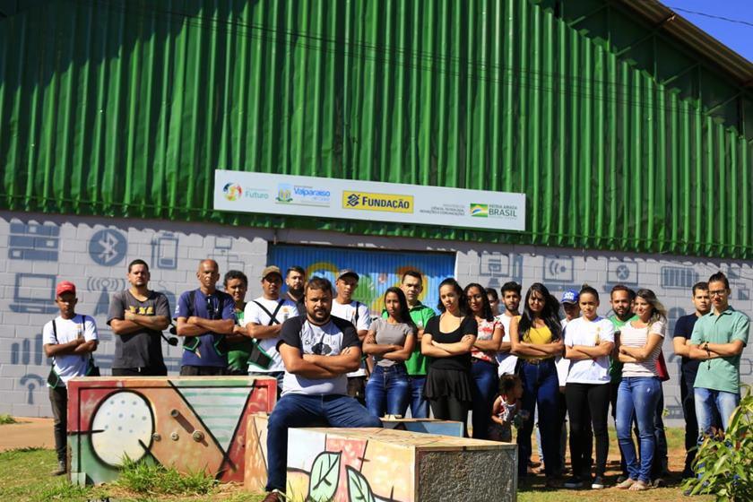 Estação de Metarreciclagem em Valparaíso de Goiás (GO)