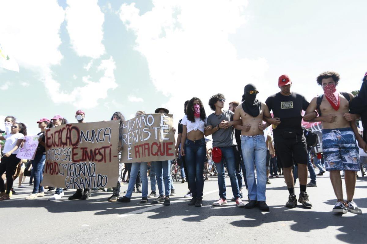 protesto educacao