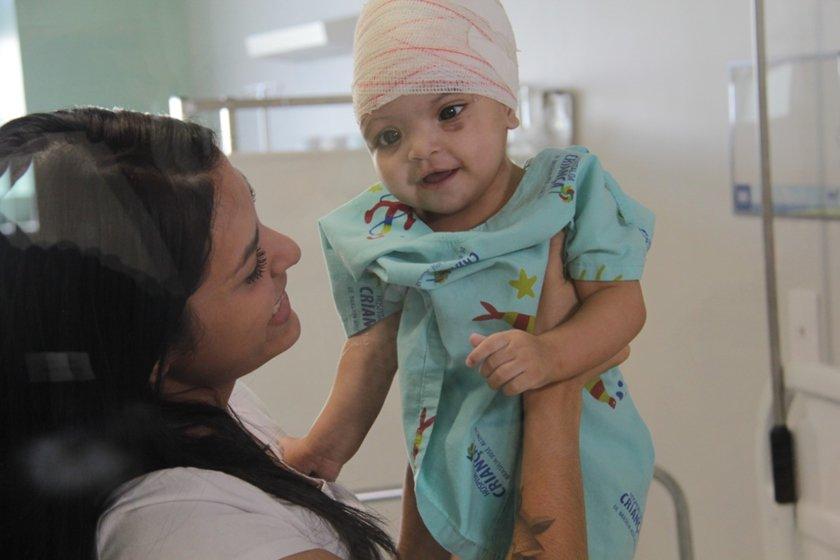 Maria Clara Oliveira/Divulgação/Hospital da Criança de Brasília