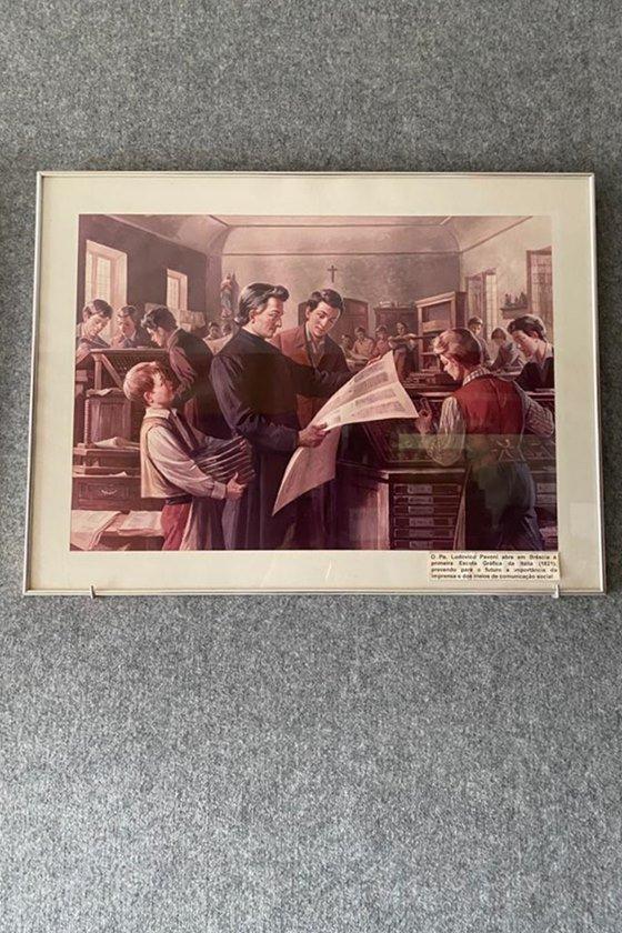Quadro do padre Ludovico Pavoni