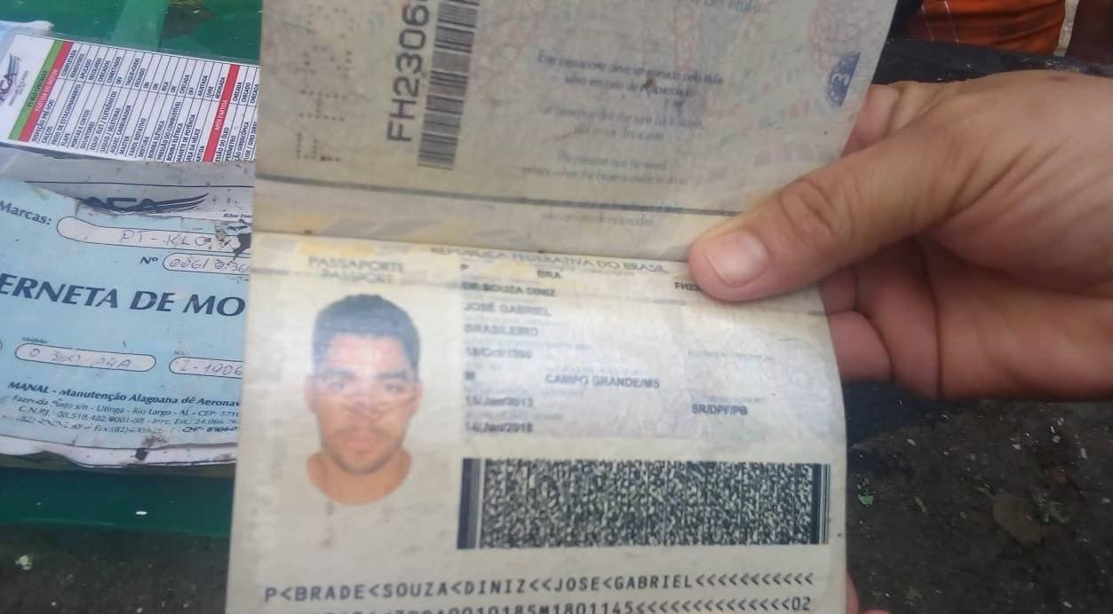 Passaporte gabriel diniz