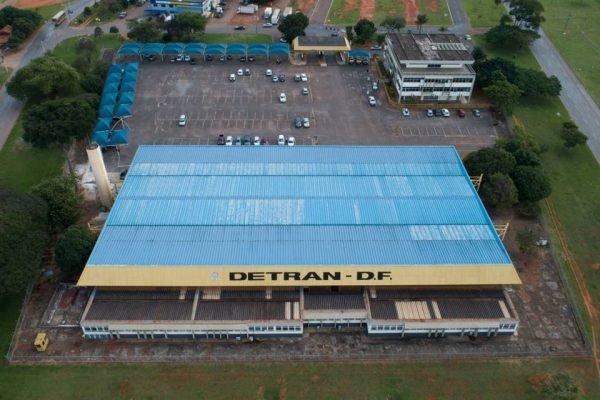 Fachada Detran-DF