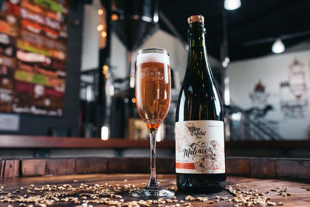 Com 4,9% de teor alcoólico, o novo rótulo foilançado nesta semana pela cervejaria brasiliense Hop Capital Beer. Fomos conferir de pertinho a produção! Veja: