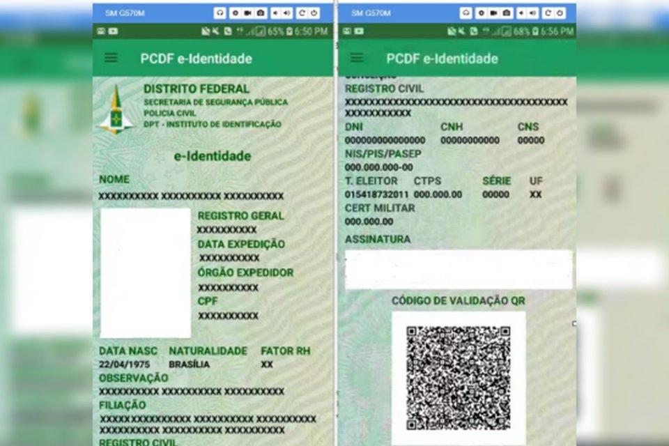 Polícia Civil Do Df Lança Aplicativo De Identidade Digital
