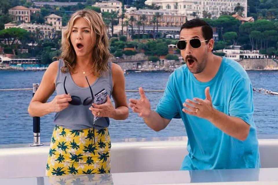 Netflix: filme com Jennifer Aniston e Adam Sandler bate recorde