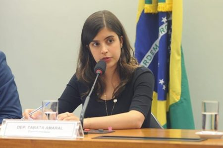Deputada Tabata Amaral