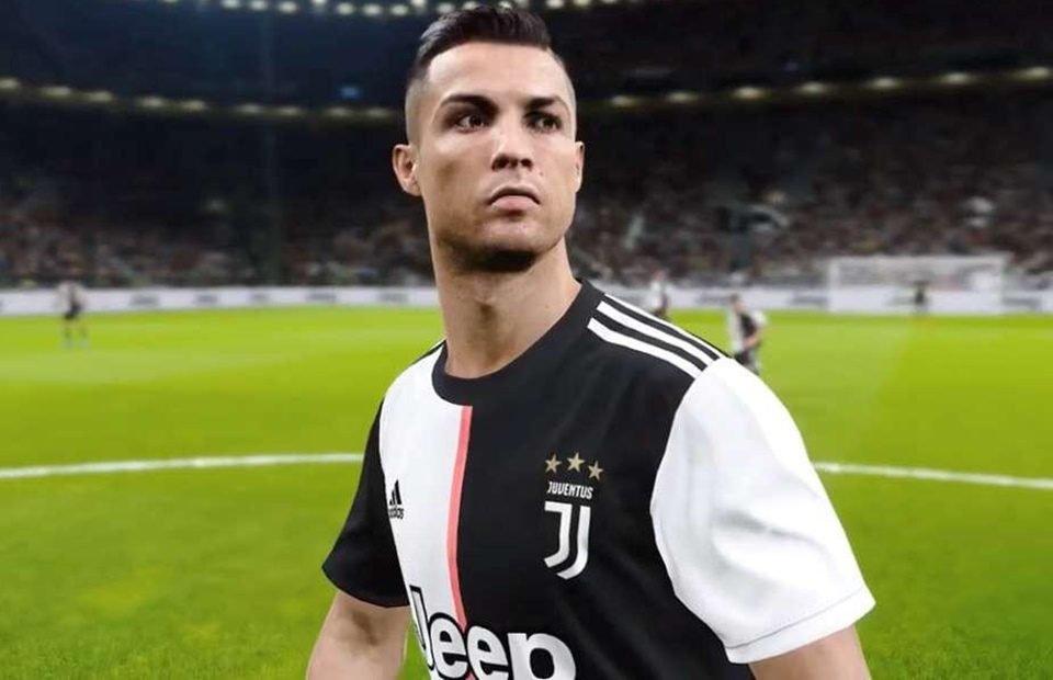 Cristiano Ronaldo tem novo time   no FIFA20  Juventus agora é do PES