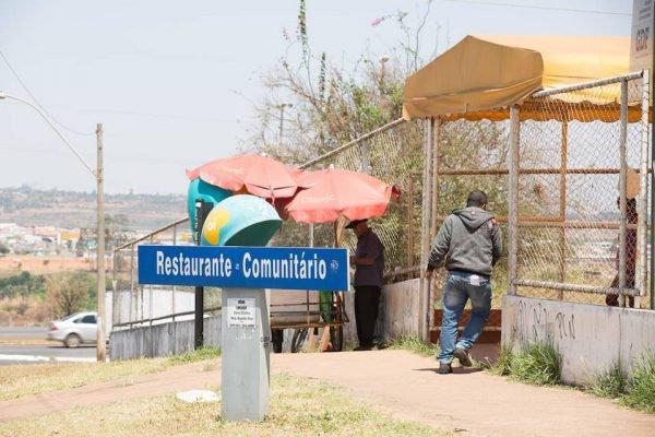 Restaurante comunitário no DF