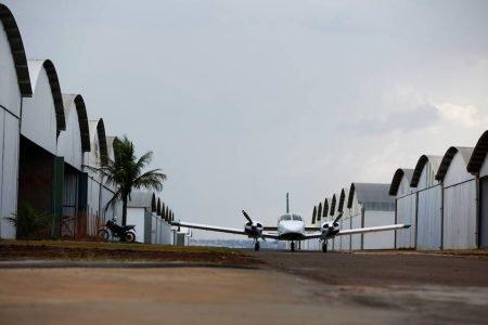 Aeródromo Botelho, em São Sebastião