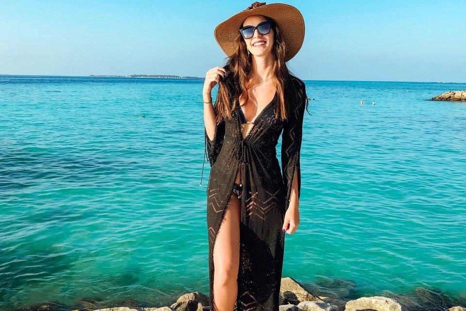 Nana viajou com o marido, o nutricionista Helios Fleury, e afirma que é possível aproveitar o destino em resorts luxuosos ou gastando pouco