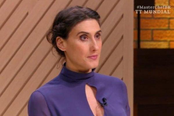 Paola Carosella no MasterChef
