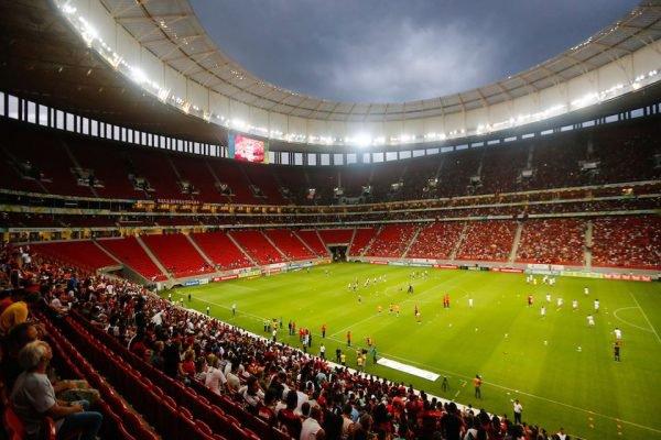 Flamengo x Vasco pelo campeonato Carioca no Estádio Mané garrincha