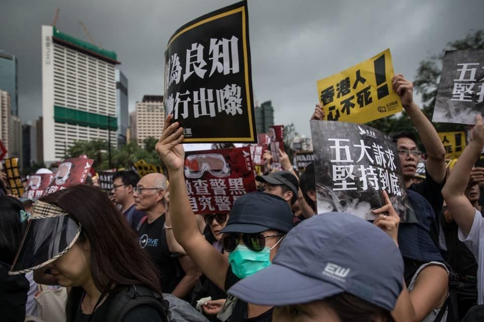 Resultado de imagem para MANIFESTANTES VOLTAM A PROTESTAR EM HONG KONG