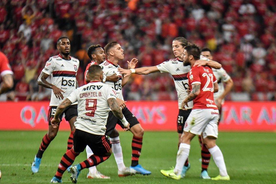 Flamengo Empata Com O Inter Por 1 X 1 E Está Na Semi Da