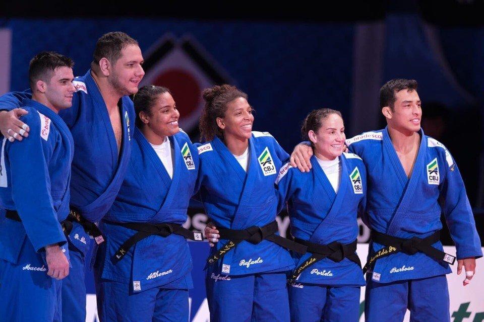 Brasil vence a Mongólia e conquista o bronze no Mundial de Judô