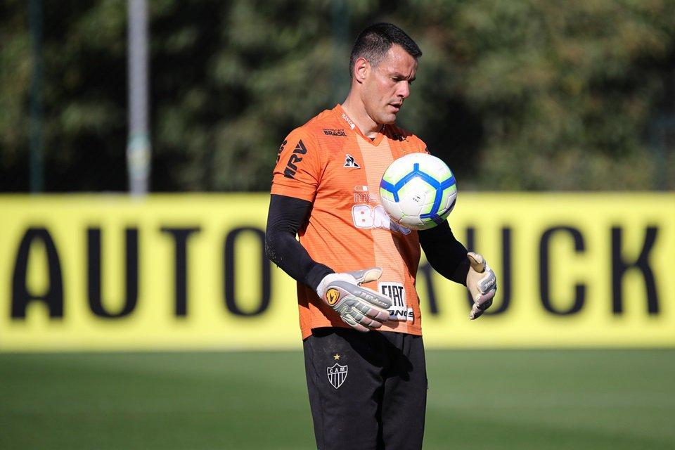 Wilson, goleiro do Atlético-MG, prevê uma boa atuação do clube de Minas diante o Flamengo