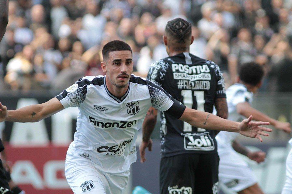Nos Acrescimos Ceara Arranca Empate Do Corinthians Com Gol Olimpico