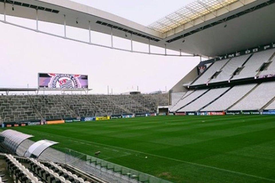 Arena Corinthians por dentro
