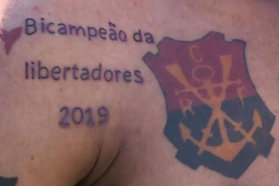 Previsão Ou Zica Torcedor Tatua Título Do Flamengo Na